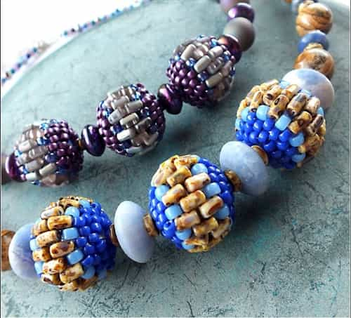 BeadSmith Digital Download Patterns - Bamboo Beaded Beads
