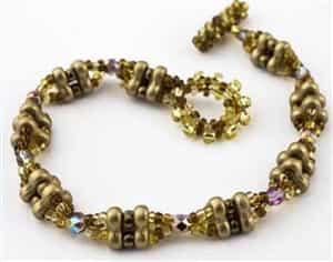 BeadSmith Exclusive Bead Store Patterns - Bumpitybump Bracelet