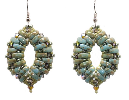 BeadSmith Digital Download Patterns - Cali Earrings