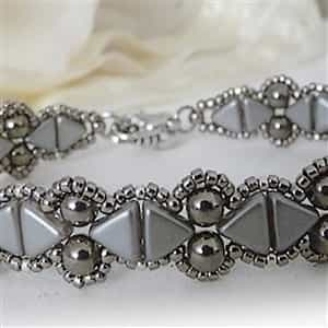 BeadSmith Exclusive Bead Store Patterns - Camille Bracelet