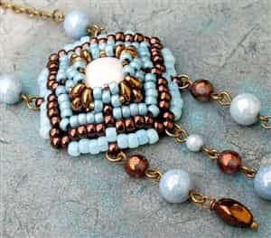 BeadSmith Exclusive Bead Store Patterns - Casablanca Pendant