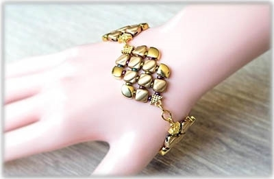 BeadSmith Digital Download Pattern - Cece Bracelet