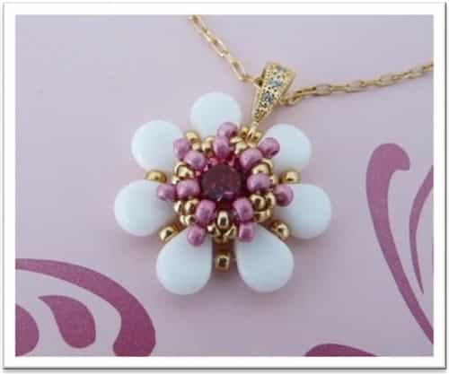 BeadSmith Exclusive Bead Store Patterns - Charm's Amos Pendant