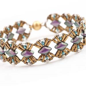 BeadSmith Digital Download Patterns - Cleopatra Bracelet