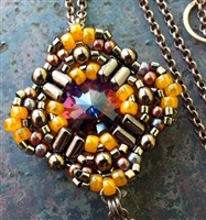 BeadSmith Digital Download Patterns - Cressida Pendant