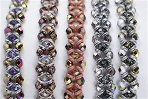 BeadSmith Exclusive Bead Store Patterns - Crisscrossing Bracelet