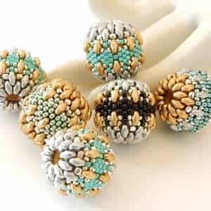 BeadSmith Exclusive Bead Store Patterns - Dragon Egg Beaded Beads