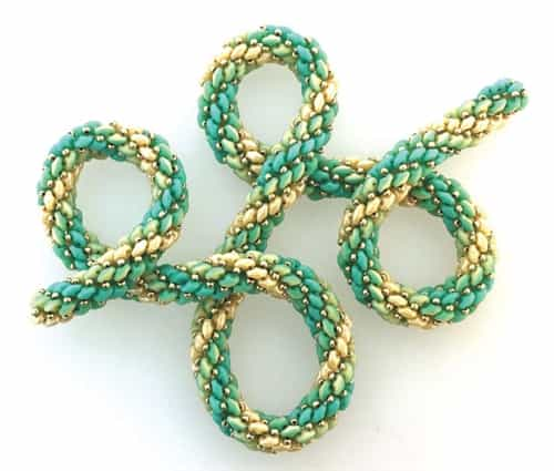BeadSmith Exclusive Bead Store Patterns - Duet Ombre Rope