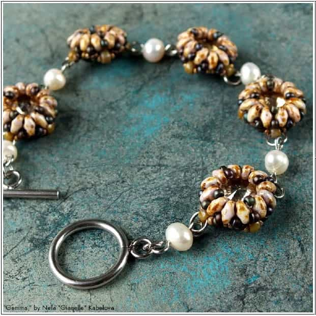 BeadSmith Digital Download Patterns - Gemma Bracelet