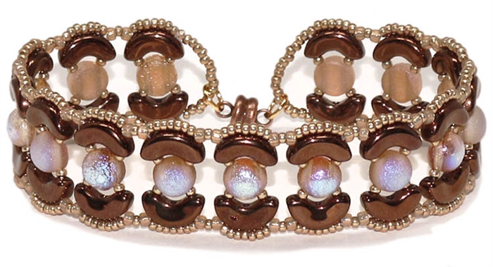 BeadSmith Digital Download Patterns - Hailey Bracelet