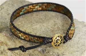 BeadSmith Exclusive Bead Store Patterns - Half Tila Bracelet
