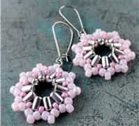 BeadSmith Digital Download Patterns - Inti Earrings
