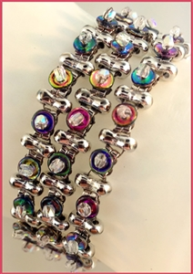 BeadSmith Exclusive Bead Store Patterns - It's A Wrap Bracelet