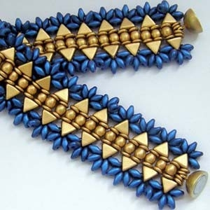 BeadSmith Exclusive Bead Store Patterns - Kheopatra Bracelet