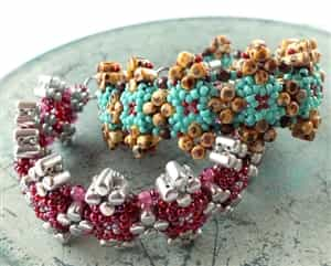 BeadSmith Exclusive Bead Store Patterns - Leda Bracelet