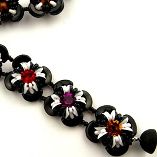 BeadSmith Digital Download Patterns - Little Flowers Bracelet