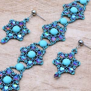 BeadSmith Digital Download Patterns - Lolita Bracelet