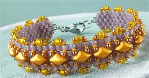 BeadSmith Exclusive Bead Store Patterns - Madras Bracelet