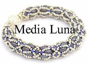 BeadSmith Digital Download Patterns - Media Luna