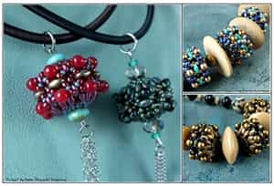 BeadSmith Digital Download Patterns - MiniDuo Rondelles