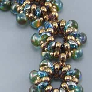 BeadSmith Exclusive Bead Store Patterns - Trin'y Mini Mushy Bracelet