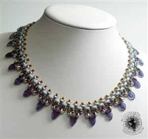 BeadSmith Exclusive Bead Store Patterns - Moni Luna Necklace