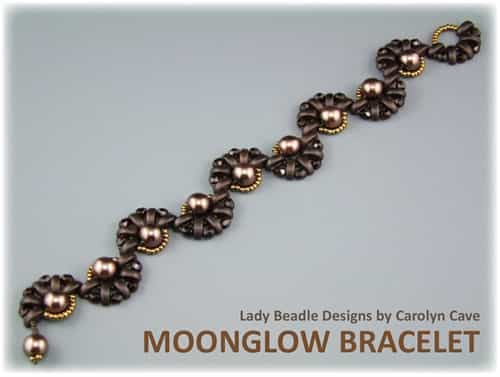 BeadSmith Digital Download Patterns - Moonglow Bracelet