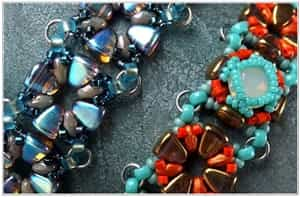 BeadSmith Exclusive Bead Store Patterns - Nib-BIt Rani Bracelet