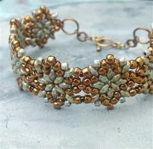 BeadSmith Exclusive Bead Store Patterns - Northern Star Bracelet