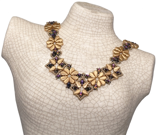 BeadSmith Digital Download Patterns - Paisley Premier Necklace