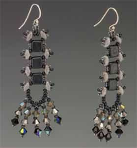 BeadSmith Exclusive Bead Store Patterns - River Walk Earrings