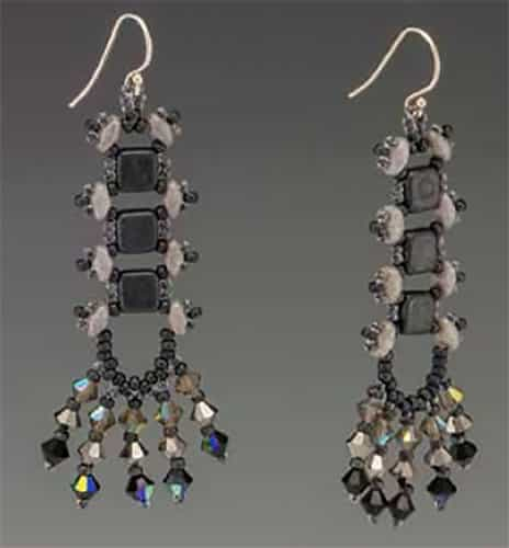 BeadSmith Digital Download Patterns - River Walk Earrings
