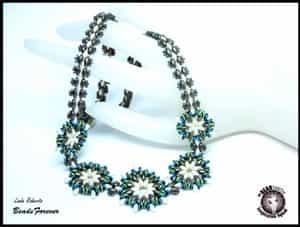 BeadSmith Exclusive Bead Store Patterns - Round About Neckalce