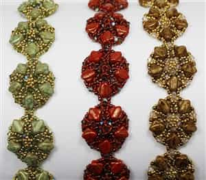 BeadSmith Exclusive Bead Store Patterns - Silky Circlets
