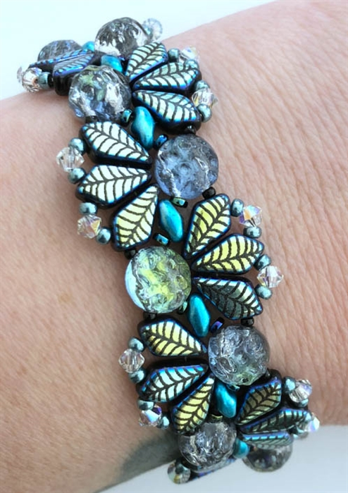 BeadSmith Digital Download Patterns - Slinky Baroque Bracelet