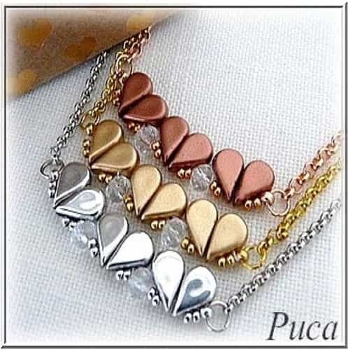 Les Perles Par Puca Digital Download Patterns - St Valentin Necklace