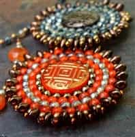 BeadSmith Digital Download Patterns - Sun Amulet