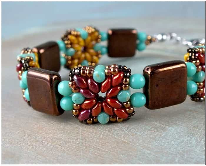 BeadSmith Digital Download Patterns - Tara Bracelet