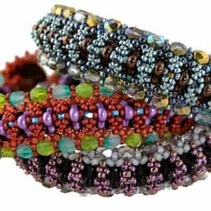 BeadSmith Exclusive Bead Store Patterns - Trilogy Bracelet