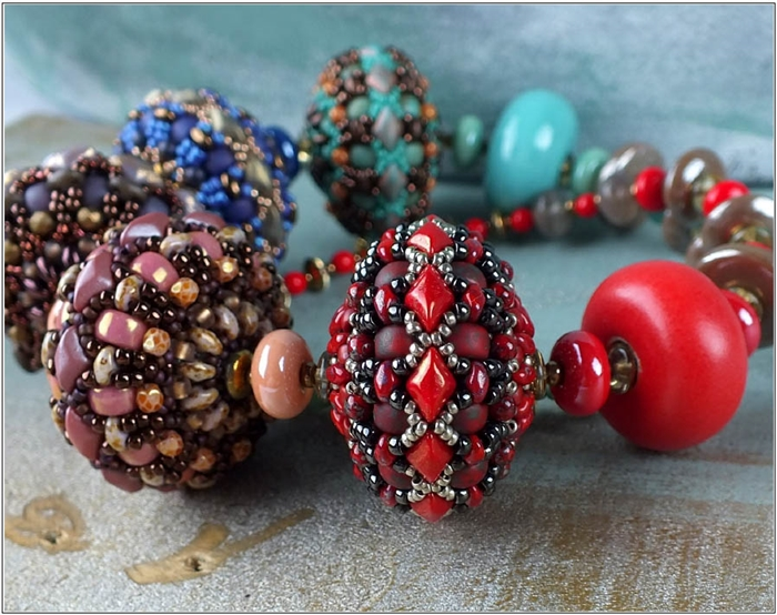 BeadSmith Digital Download Patterns - Yolanda Beaded Bead