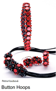 All Beads CZ Exclusive Bead Store Patterns - Button Hoops