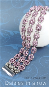 All Beads CZ Exclusive Bead Store Patterns - Daisies In A Row