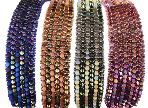 All Beads CZ Exclusive Bead Store Patterns - Gekko Bracelet