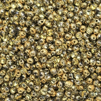 Miyuki Drop/Frings Seed Beads 3.4mm DP-55005 - Crystal Amber - 10 Grams