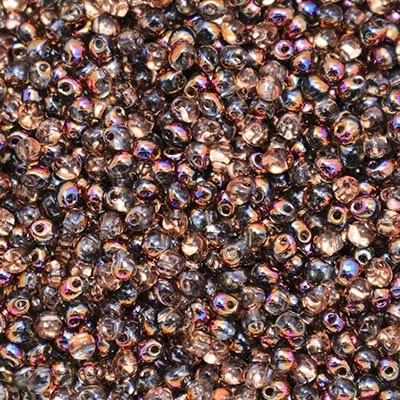 Miyuki Drop/Frings Seed Beads 3.4mm DP-55011 - Crystal Sliperit - 10 Grams