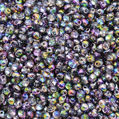 Miyuki Drop/Frings Seed Beads 3.4mm DP-55015 - Crystal Magic Purple - 10 Grams