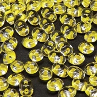 DU0500030-44886 - SuperDuo 2.5X5mm Crystal Yellow Lined - 8 Grams