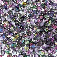 DU0500030-95500 - SuperDuo 2.5X5mm Crystal Magic Violet-Grey- 8 Grams