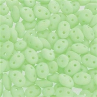 DU0502010-92924 - SuperDuo 2.5X5mm Bondeli Matte Lime - 8 Grams