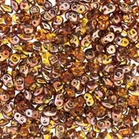 DU0510060-27101 - SuperDuo 2.5X5mm Topaz Capri Gold- 8 Grams